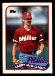 1989 Topps Traded #80 T Larry McWilliams  Front Thumbnail