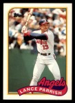 1989 Topps Traded #96 T Lance Parrish  Front Thumbnail