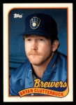 1989 Topps Traded #21 T Bryan Clutterbuck  Front Thumbnail