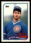 1989 Topps Traded #130 T Mitch Williams  Front Thumbnail
