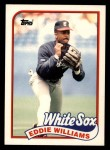 1989 Topps Traded #127 T Eddie Williams  Front Thumbnail