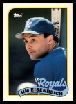 1989 Topps Traded #28 T Jim Eisenreich  Front Thumbnail