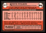 1989 Topps Traded #131 T Steve Wilson  Back Thumbnail