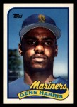 1989 Topps Traded #46 T Gene Harris  Front Thumbnail