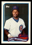 1989 Topps Traded #126 T Curt Wilkerson  Front Thumbnail