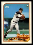 1989 Topps Traded #117 T Wal Terrell  Front Thumbnail