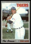 1970 Topps #152  Ike Brown  Front Thumbnail