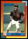 1990 Topps Traded #20 T Joe Carter  Front Thumbnail