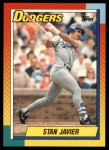 1990 Topps Traded #47 T Stan Javier  Front Thumbnail