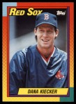 1990 Topps Traded #50 T Dana Kiecker  Front Thumbnail
