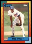 1990 Topps Traded #36 T Mike Harkey  Front Thumbnail