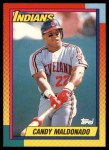 1990 Topps Traded #65 T Candy Maldonado  Front Thumbnail