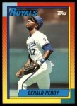 1990 Topps Traded #92 T Gerald Perry  Front Thumbnail