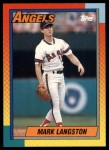 1990 Topps Traded #54 T Mark Langston  Front Thumbnail