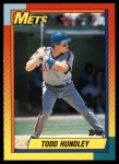 1990 Topps Traded #44 T Todd Hundley  Front Thumbnail