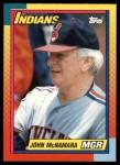 1990 Topps Traded #72 T John McNamara  Front Thumbnail