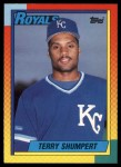 1990 Topps Traded #114 T Terry Shumpert  Front Thumbnail