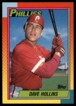 1990 Topps Traded #41 T Dave Hollins  Front Thumbnail