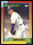 1990 Topps Traded #125 T Randy Veres  Front Thumbnail