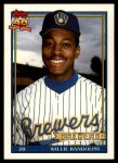1991 Topps Traded #95 T Willie Randolph  Front Thumbnail