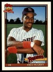1991 Topps Traded #77 T Fred McGriff  Front Thumbnail