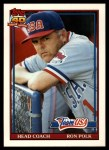 1991 Topps Traded #93 T  -  Ron Polk Team USA Front Thumbnail