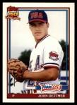 1991 Topps Traded #32 T  -  John Dettmer Team USA Front Thumbnail