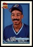 1991 Topps Traded #7 T Derek Bell  Front Thumbnail