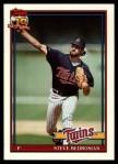 1991 Topps Traded #6 T Steve Bedrosian  Front Thumbnail