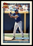 1991 Topps Traded #20 T Joe Carter  Front Thumbnail