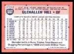 1991 Topps Traded #55 T Glenallen Hill  Back Thumbnail