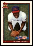 1991 Topps Traded #61 T  -  Charles Johnson Team USA Front Thumbnail