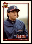 1991 Topps Traded #112 T Luis Sojo  Front Thumbnail