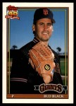 1991 Topps Traded #11 T Bud Black  Front Thumbnail
