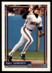 1992 Topps Traded #108 T Paul Sorrento  Front Thumbnail