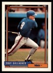 1992 Topps Traded #37 T Dave Gallagher  Front Thumbnail