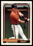 1992 Topps Traded #115 T Jeff Tackett  Front Thumbnail