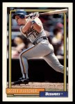 1992 Topps Traded #34 T Scott Fletcher  Front Thumbnail