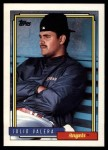 1992 Topps Traded #122 T Julio Valera  Front Thumbnail