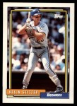 1992 Topps Traded #103 T Kevin Seitzer  Front Thumbnail