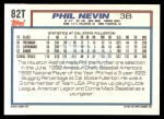 1992 Topps Traded #82 T  -  Phil Nevin Team USA Back Thumbnail