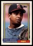 1992 Topps Traded #15 T Hubie Brooks  Front Thumbnail