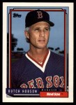 1992 Topps Traded #52 T Butch Hobson  Front Thumbnail