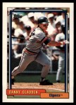 1992 Topps Traded #41 T Danny Gladden  Front Thumbnail