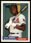 1992 Topps Traded #45 T  -  Jeffrey Hammonds Team USA Front Thumbnail