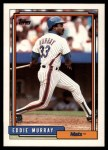 1992 Topps Traded #79 T Eddie Murray  Front Thumbnail