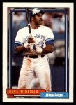1992 Topps Traded #130 T Dave Winfield  Front Thumbnail
