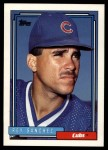 1992 Topps Traded #98 T Rey Sanchez  Front Thumbnail