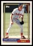 1992 Topps Traded #28 T Gary DiSarcina  Front Thumbnail
