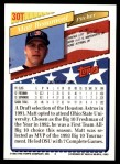 1993 Topps Traded #30 T  -  Matt Beaumont Team USA Back Thumbnail